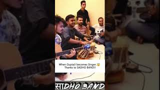 When Appurv Gupta becomes Singer, Thanks to @साDHO Band
