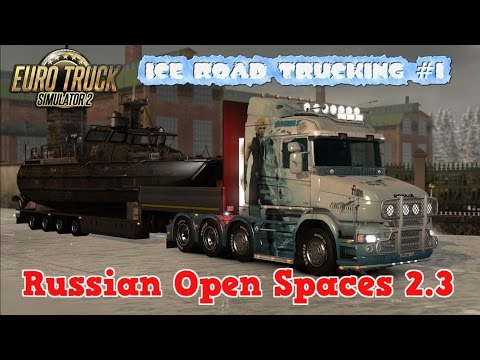 ETS2 Russian Open Spaces 2.3 Ice #1