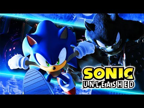 SONIC UNLEASHED All Cutscenes (Game Movie) Xbox One X 1440P 60FPS