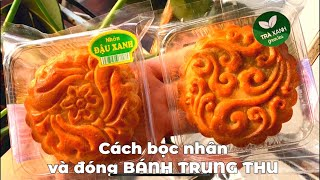 Hướng dẫn bọc nhân và đóng bánh Trung Thu sắc nét - Món ăn ngon Việt