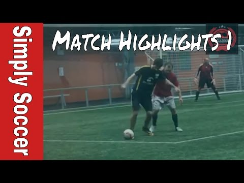 Simply Soccer Match Highlights - Soccer Game Footage