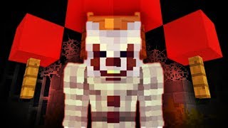 IT IS PENNYWISE THE CLOWN! - Alex and Satan MINECRAFT (From the IT Movie)