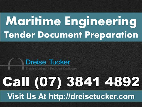 Maritime Engineering - Tender Document Preparation