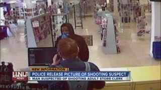 Photo: Suspect shot porn store clerk