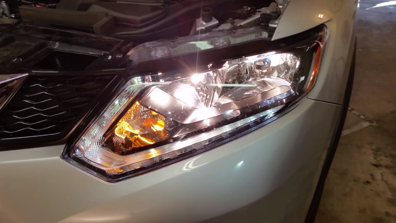 Burnt Out Headlight : Nissan rogue testing headlights after changing
