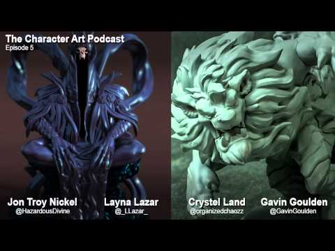 The Character Art Podcast #5: Crystel Land / Layna Lazar thumbnail