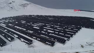 Van& 39 a 7 5 milyon dolarlık yatırımla güneş enerji santrali