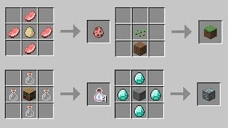 Crafting Recipes That SHOULD EXIST in Minecraft!