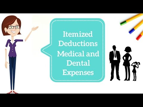 Medical and Dental Expenses Deductions - Taxation in the USA