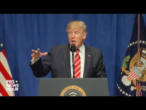 Watch President Trump speak to troops at CENTCOM