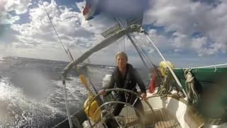 El Galante sailing from San Sebastián de La Gomera to Las Palmas de Gran Canaria