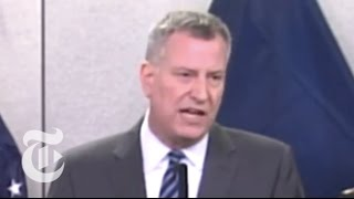 NYC Weather: De Blasio Declares State of Emergency | East Coast Snowstorm 2015