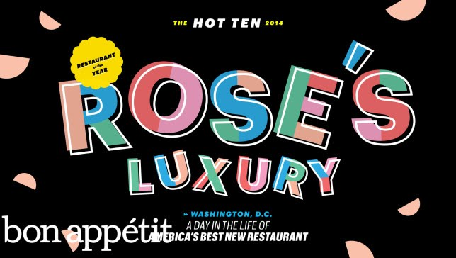 Rose's Luxury: A Day in the Life of America's Best New Restaurant 2014 - Bon Appétit