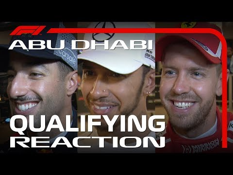 2018 Abu Dhabi Grand Prix: Qualifying Reaction