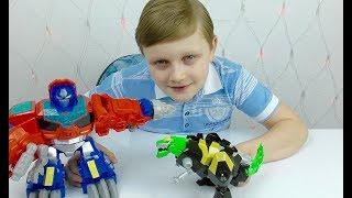 Трансформеры Автоботы Играл с Машинками и ЗАБОЛЕЛ  Мультик из игрушек Оптимус Прайм