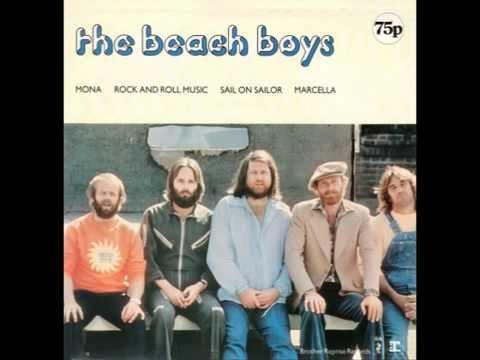 "Beach Boys – ""Marcella"" (UK Brother/Reprise) 1977"