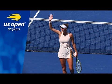 Marketa Vondrousova's Magical US Open Run Continues with a Win Over K. Bertens