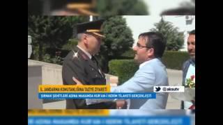 K.maras il jandarma Komutanlığını ziyaret