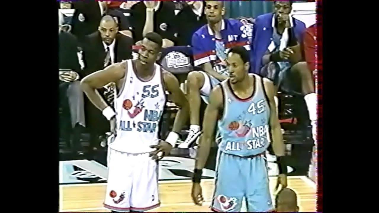 NBA All Star Game 1996 - VF George Eddy - YouTube 771cb80a6