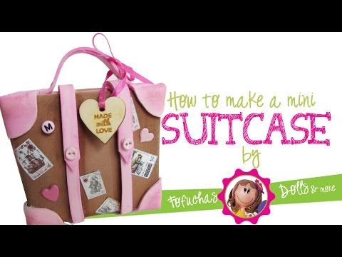 How to make a mini suitcase