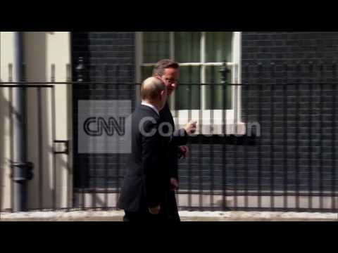 UK:PUTIN AT 10 DOWNING STREET