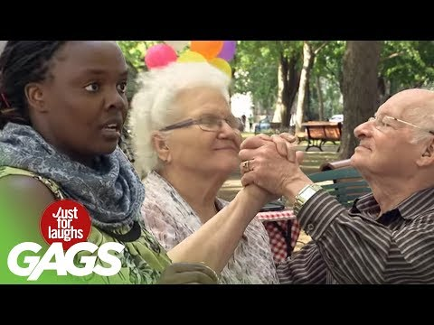 Hold My IV Bag While I Dance! - Just For Laughs Gags