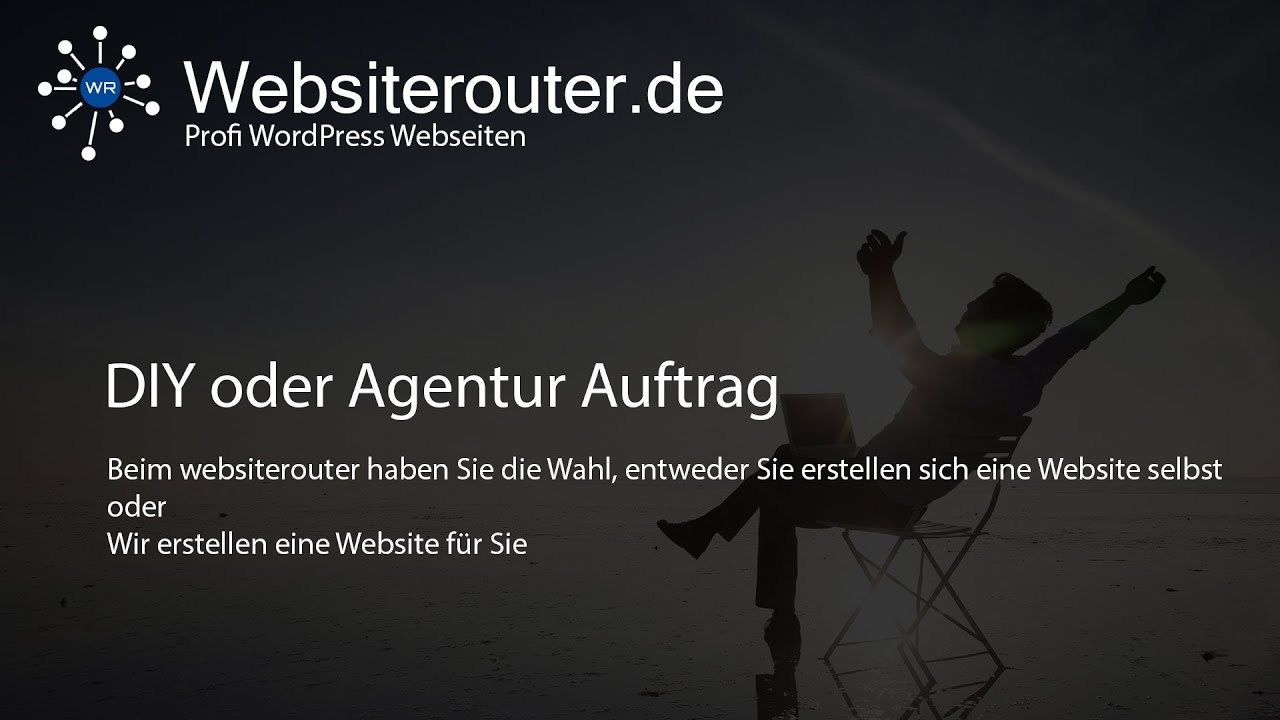 Wordpress website erstellen 2