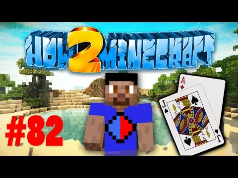 Minecraft SMP HOW TO MINECRAFT S2 #82 '$100K BETS - BLACKJACK!' with Vikkstar