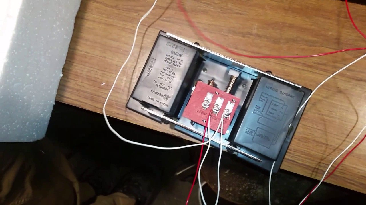 wiring a doorbell easy  [ 1280 x 720 Pixel ]