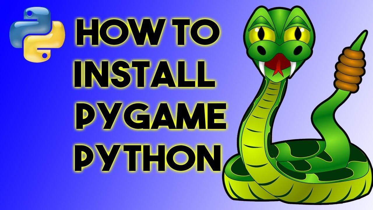 pygame pour python 3.6