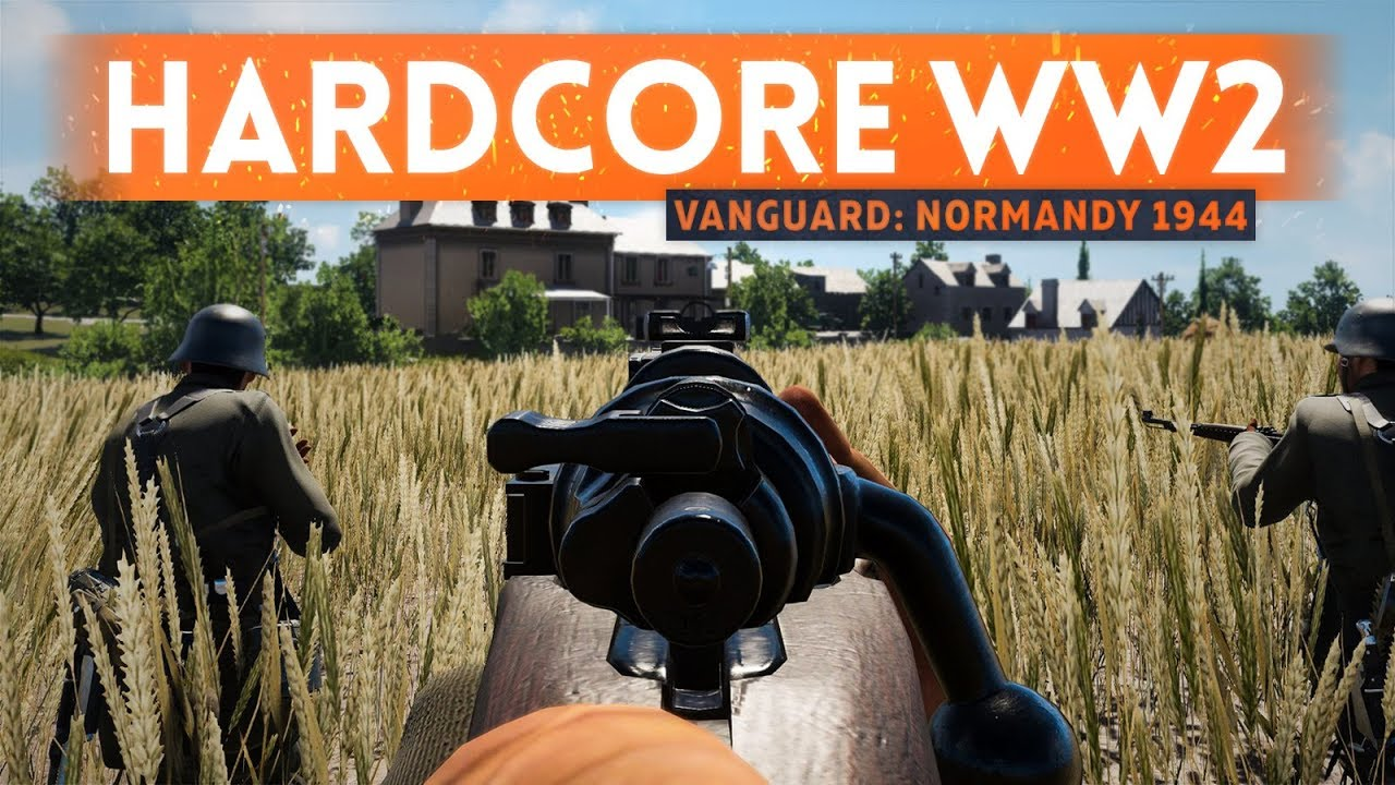 A NEW HISTORICALLY ACCURATE WW2 SHOOTER! - Vanguard: Normandy 1944 (First Look & Gameplay Details)