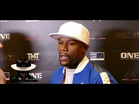 """Floyd Mayweather JR. rips Conor McGregor """"You little Bitch if you want to fight lets make it happen"""""""