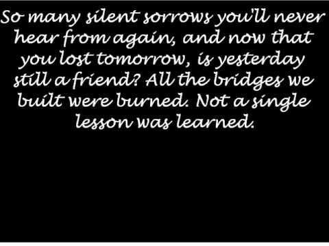 Through The Ghost Lyrics, Shinedown.