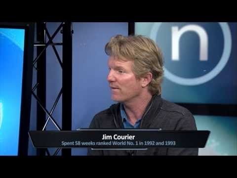 Jim Courier: 15 minutes with the tennis legend