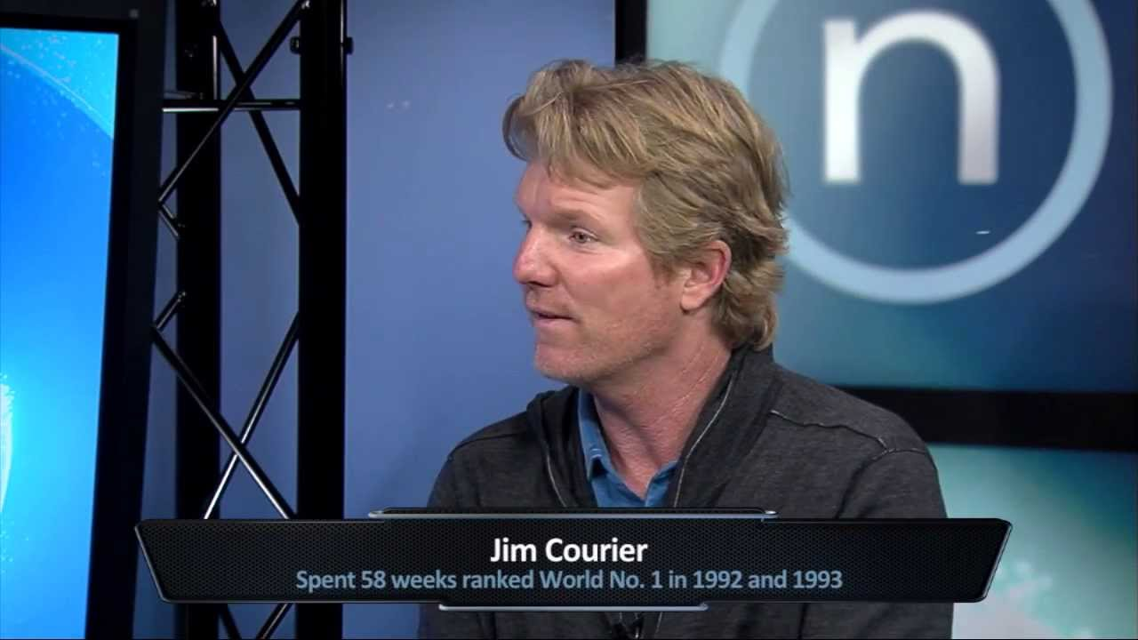Jim Courier 15 minutes with the tennis legend