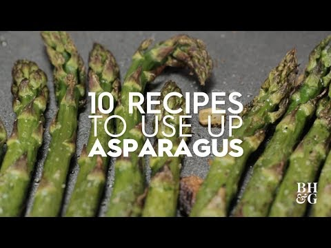Asparagus and Pea Pesto Salad Pizza