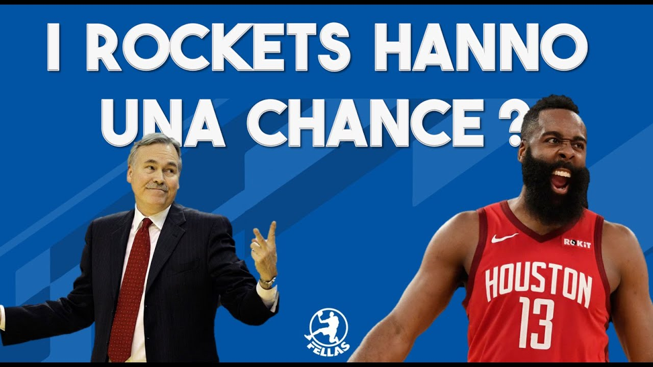 I Rockets hanno una chance?