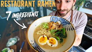Turn 7 Basic Ingredients into Restaurant Style Ramen