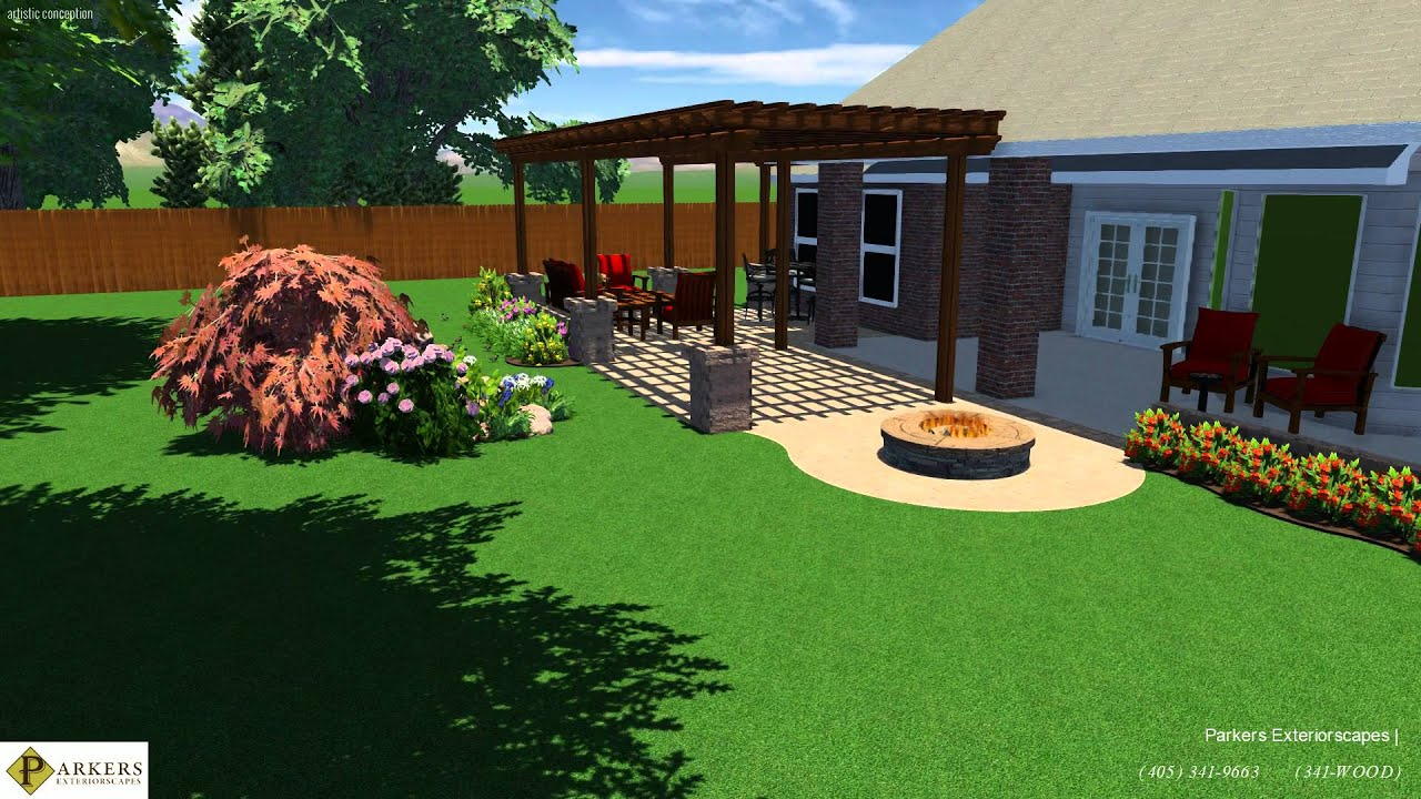 outdoor living room and waterfall landscaping storyboard youtube outdoor living room and waterfall landscaping storyboard