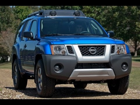 2017 Nissan Xterra Start Up And Review 4 0 L V6