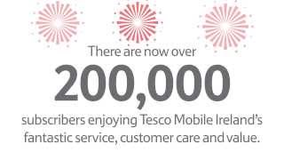 Tesco Mobile 200,000 Customers
