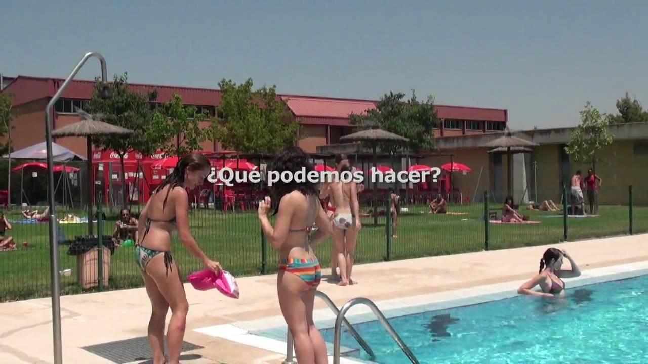 La piscina de la aut noma youtube for Piscina quintanar de la orden
