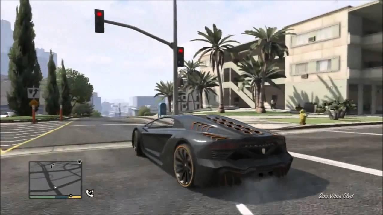 Gta V Lamborghini Veneno Pegassi Zentorno Youtube