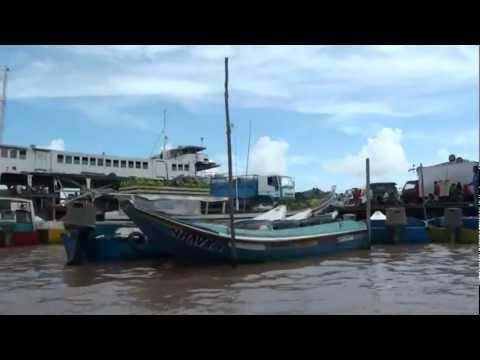 GUYANA WATER TAXI-PARIKA TO BARTICA-Essequibo Guyana-BARTICA