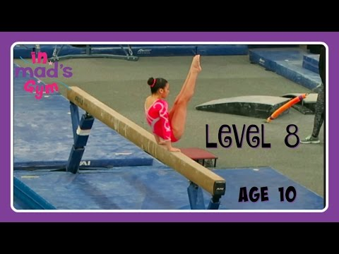Level 8 Gymnastics Meet | Age 10 | Meet 3 | Sportsplex Classic | In Mad's Gym