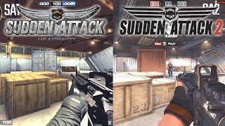 Sudden Attack vs Sudden Attack 2! (Gameplay!)