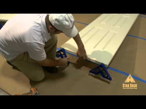 how to setup your doors with stakracks