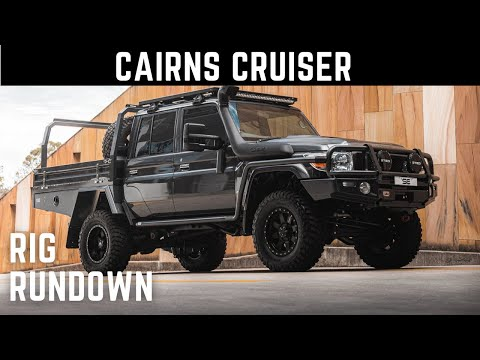 Cairns Cruiser. 2020 Dual Cab 79. Toyota Landcruiser full vehicle build by Shannons Engineering