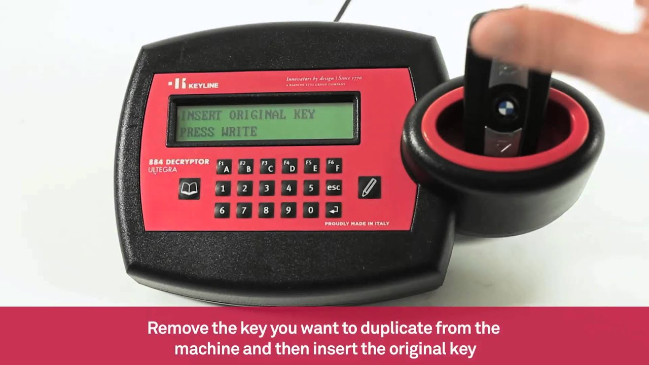 Cloning Of Bmw Car Keys With Bm100kit Keyless System