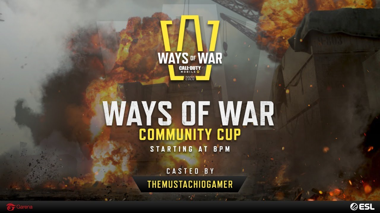 🔴 LIVE - Ways of War - Call of Duty: Mobile - Garena